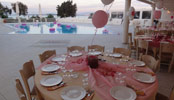 Christening in Paros Island Greece